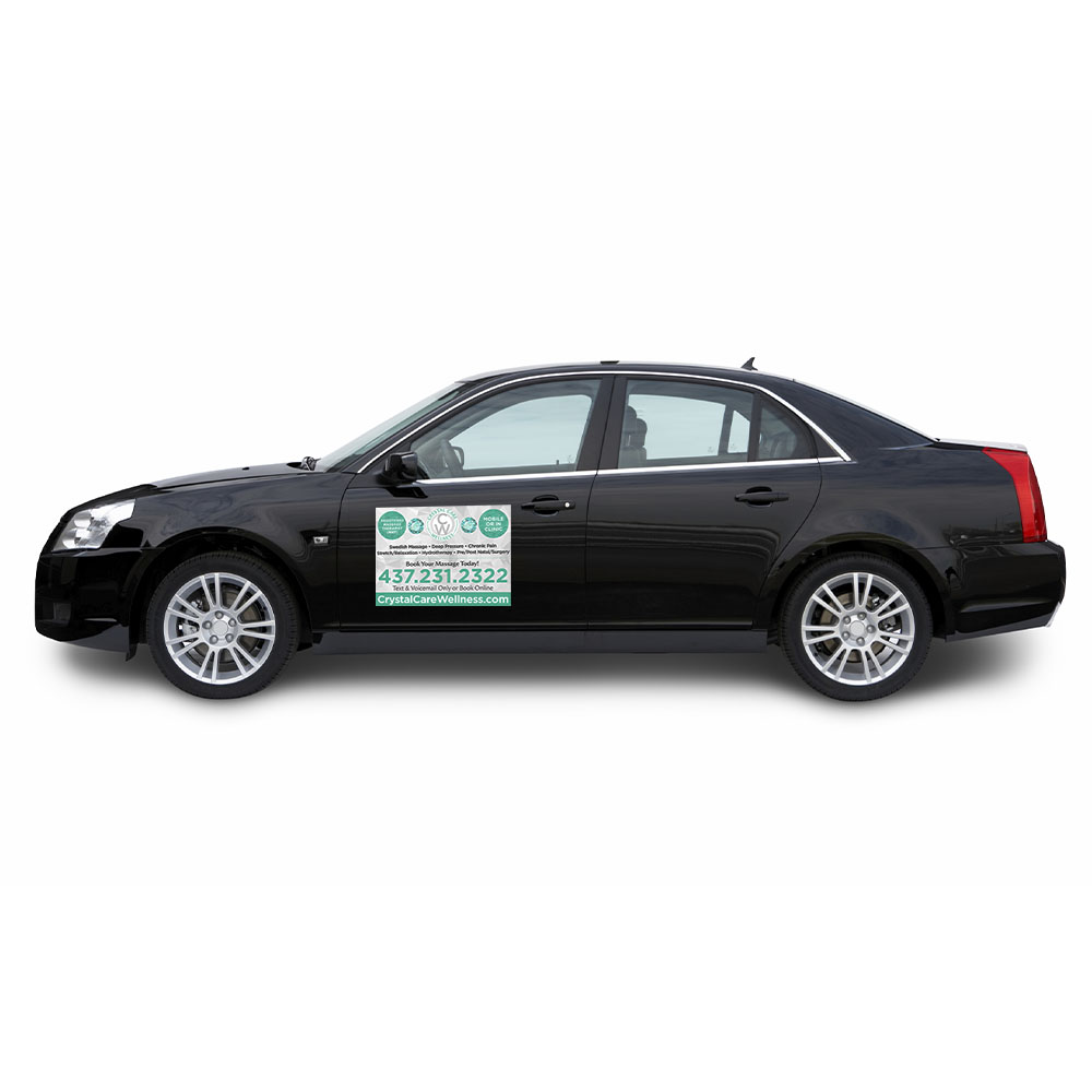 Crystal Care Wellness - Car Magnets - Signs