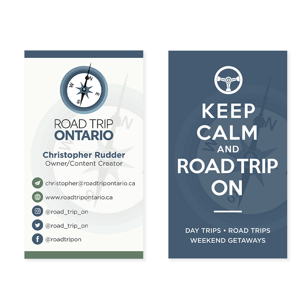 Road Trip Ontario - Business Cards