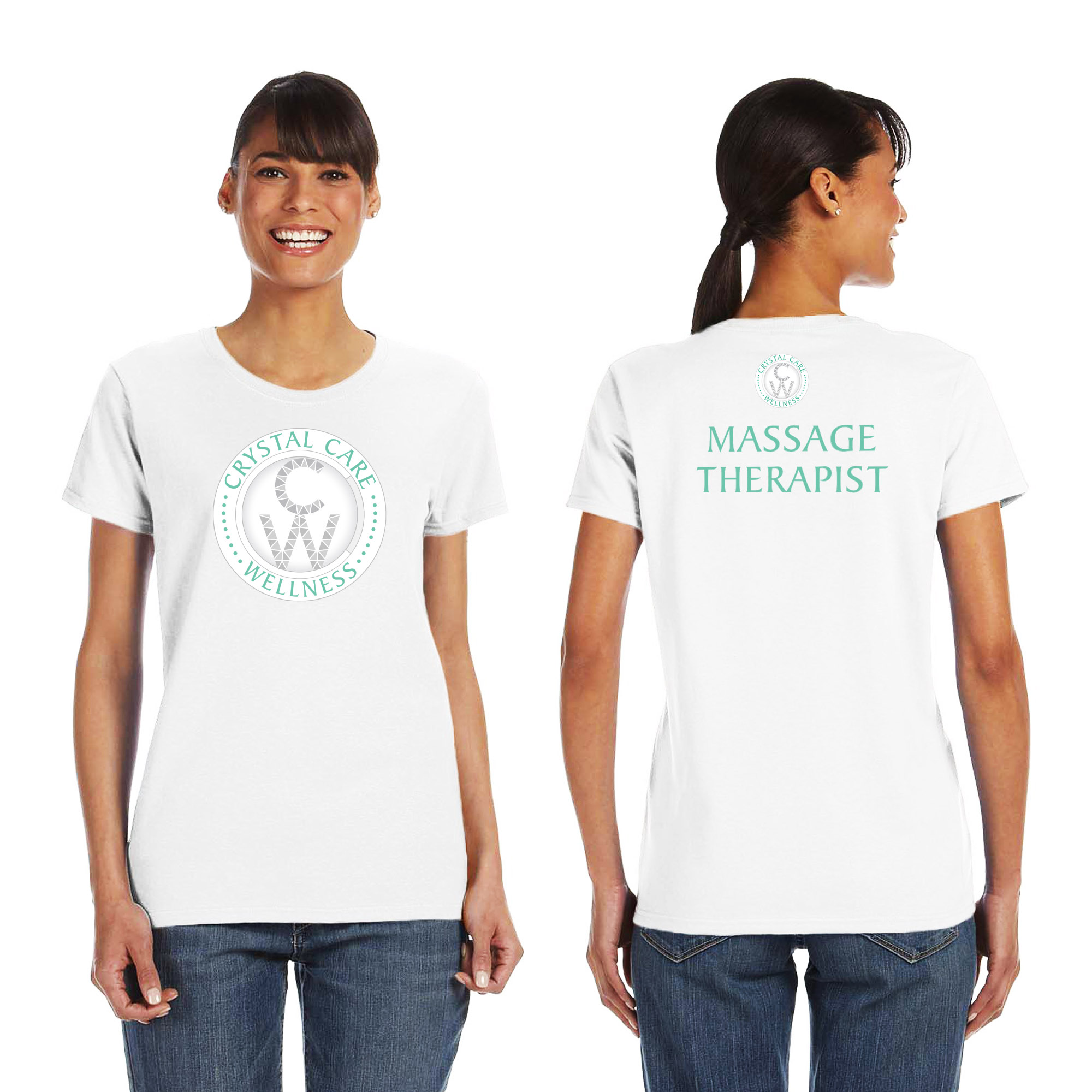 Crystal Care Wellness - Adult T-Shirts
