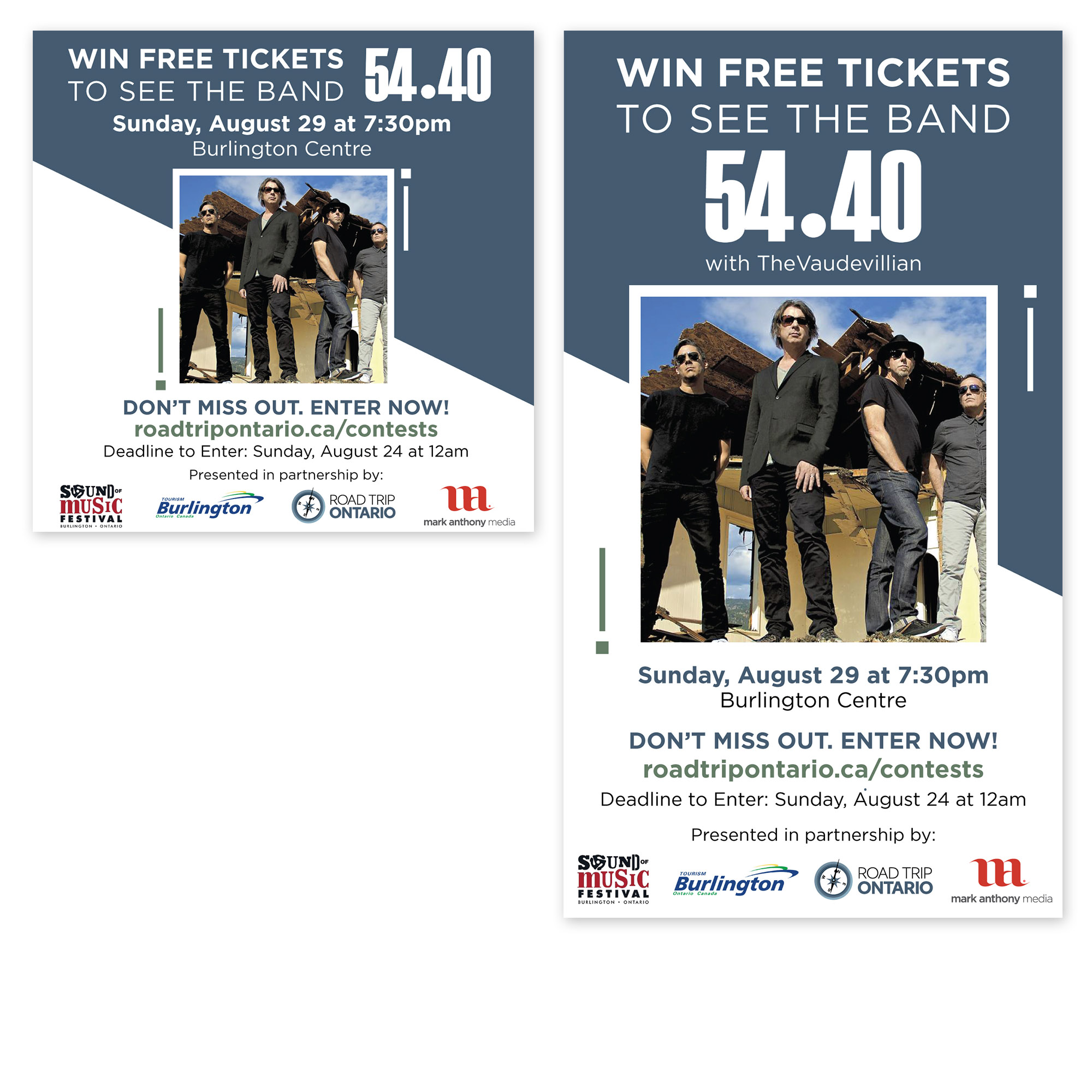 Road Trip Ontario - Sound of Music Festival Contest - Social Media Marketing