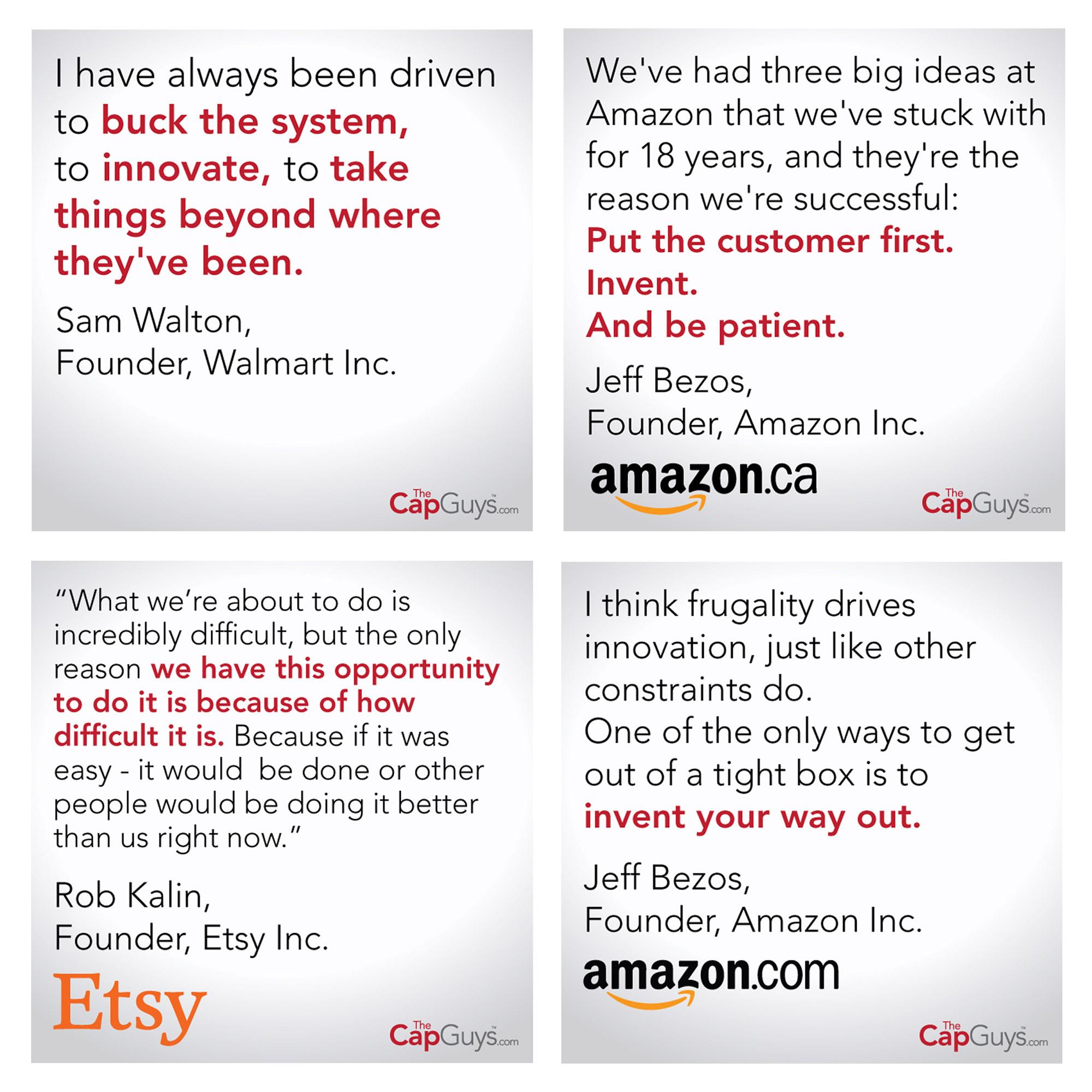 The Cap Guys - Quotes - Posts - Social Media Marketing