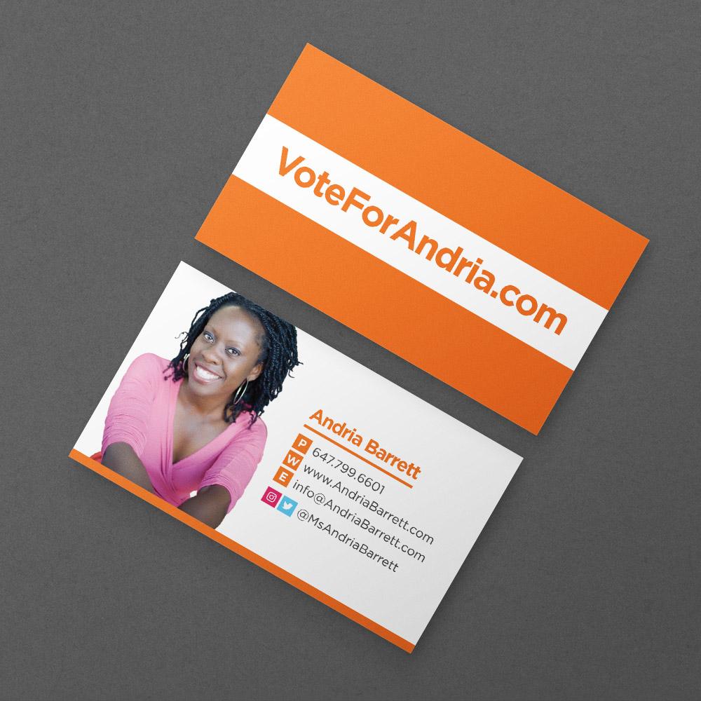 Andria Barrett - Business Cards