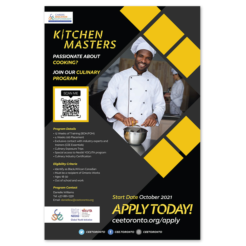 CEE Toronto – Kitchen Masters – Posters